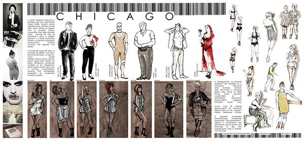 set design chicago Musical costume