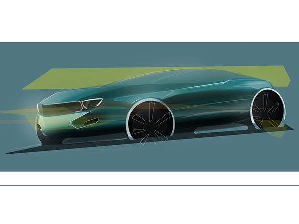 Muscle Car Sketch On Behance