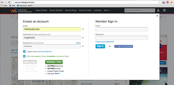 sign-in Sign-up membership account ux Form Web