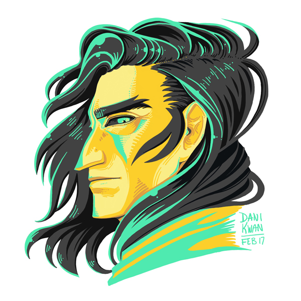 Character design  minimal illustration digital portraits whimsical fantasy art lighting painting   Dungeons and Dragons ink drawing fine art