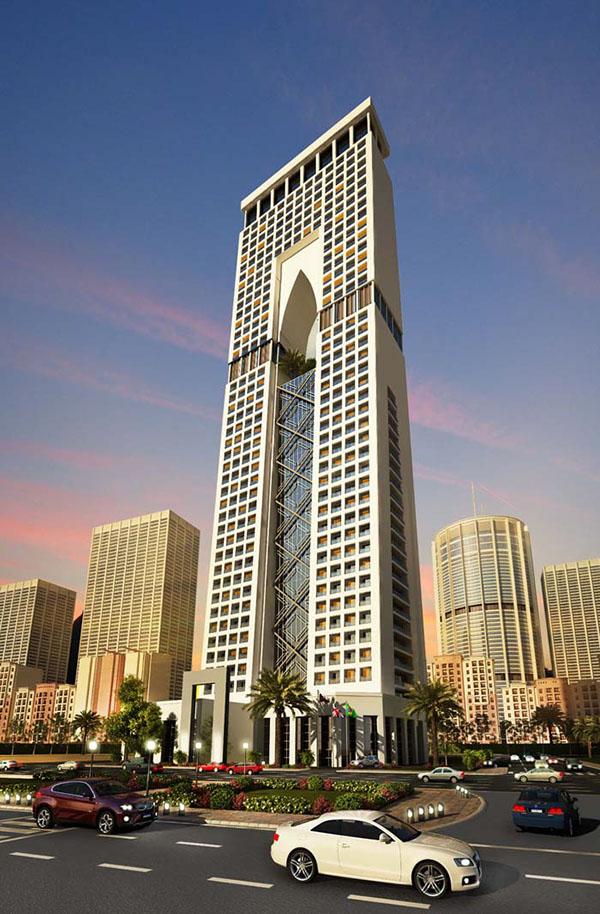 WEST BAY HOTEL TOWER - DOHA, QATAR. on Behance