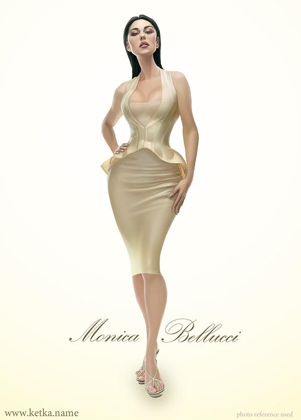 Monica Bellucci by Maria Trepalina