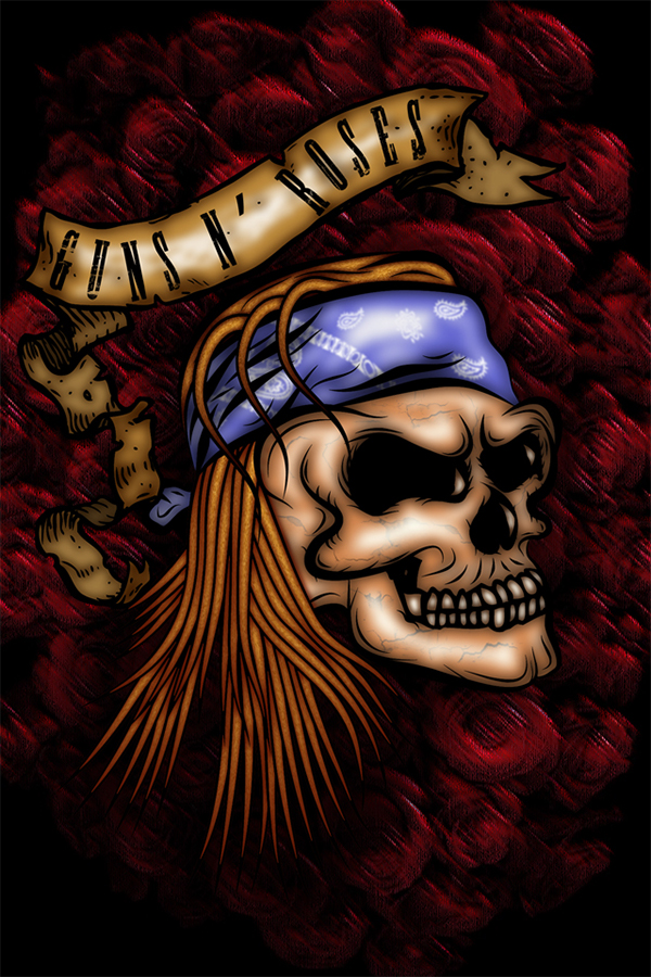 Guns N Roses Iphone Wallpaper On Behance