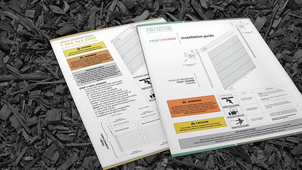 catalog Instructional Design instruction manual