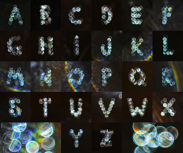 Lumen bokeh light type stop motion