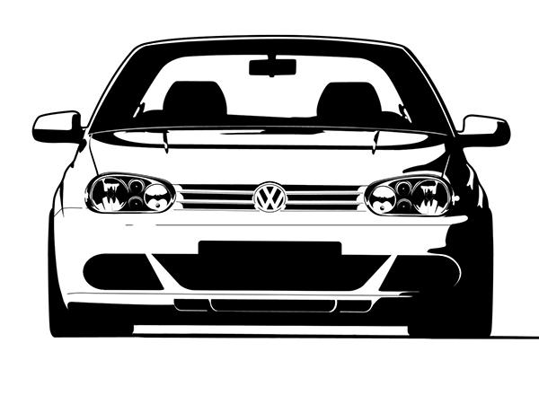Minimal Vector Cars On Behance