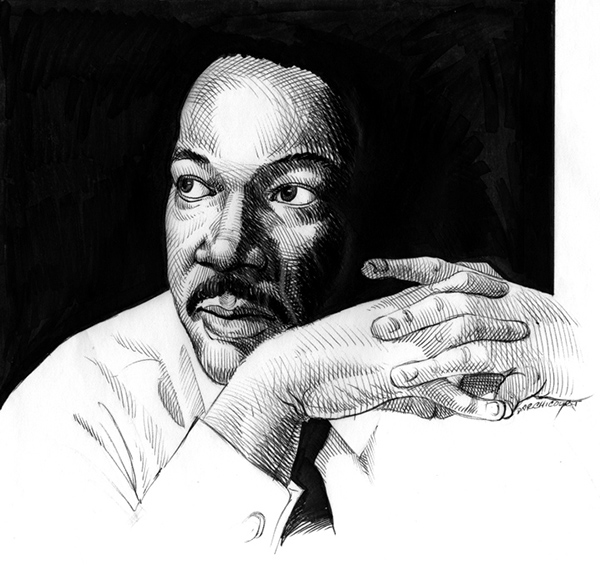 contributions of martin luther king Martin luther king, jr no christian played a more prominent role in the 20th century's most significant social justice movement russel moldovan image.