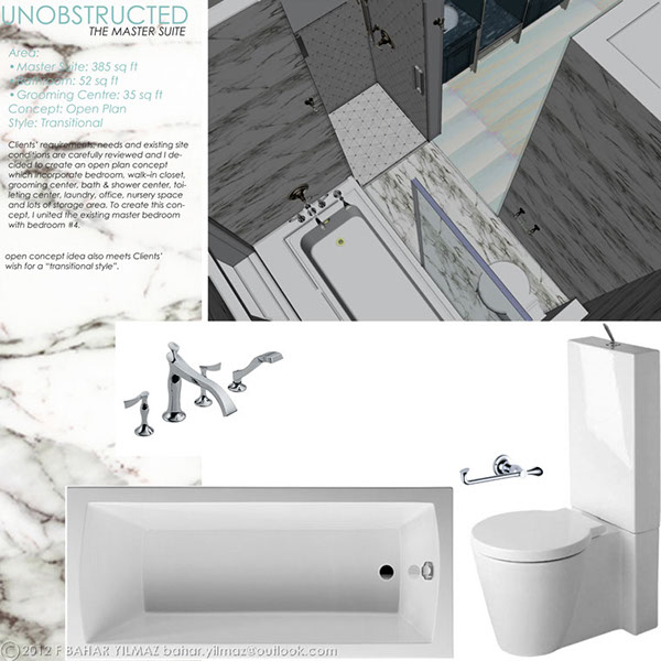Unobstructed The Master Suite On Behance