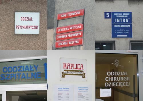 wayfinding Signage hospital pictogram sign icons