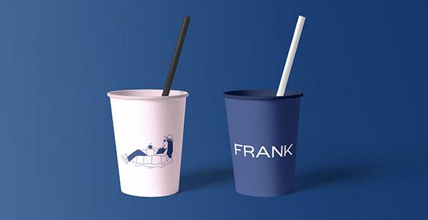 Frank Coffee | Visual identity design