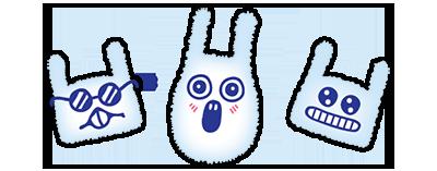 bunny rabbit funny energy drink can soda poster brand mascott cute