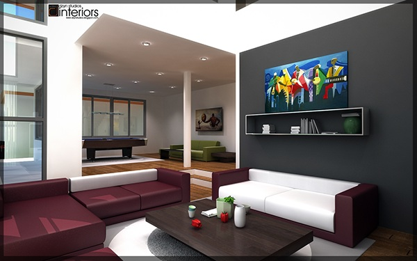 Kelvin House Interior Design Visualization Accra Gh On Behance