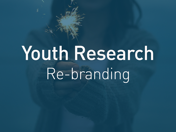 logo Logo Design rebranding agency youth Young research word play