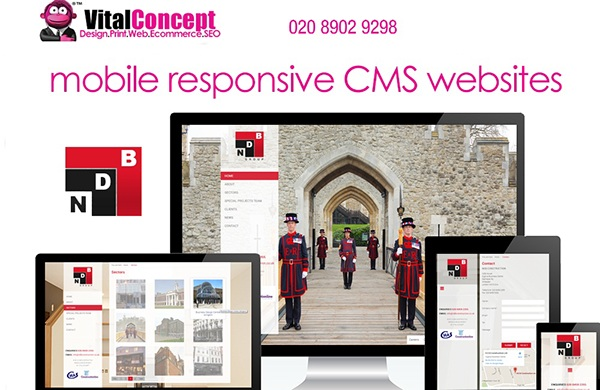 Professional Website Design Services In London On Student Show