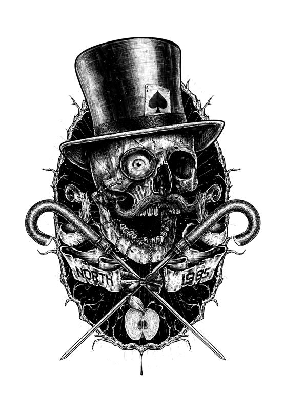 alex wezta north 1985 skull royal wezta