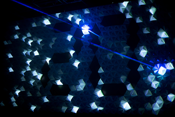 ez3kiel Yann Nguema Mapping laser Tétrahèdre tetrahedres iradian