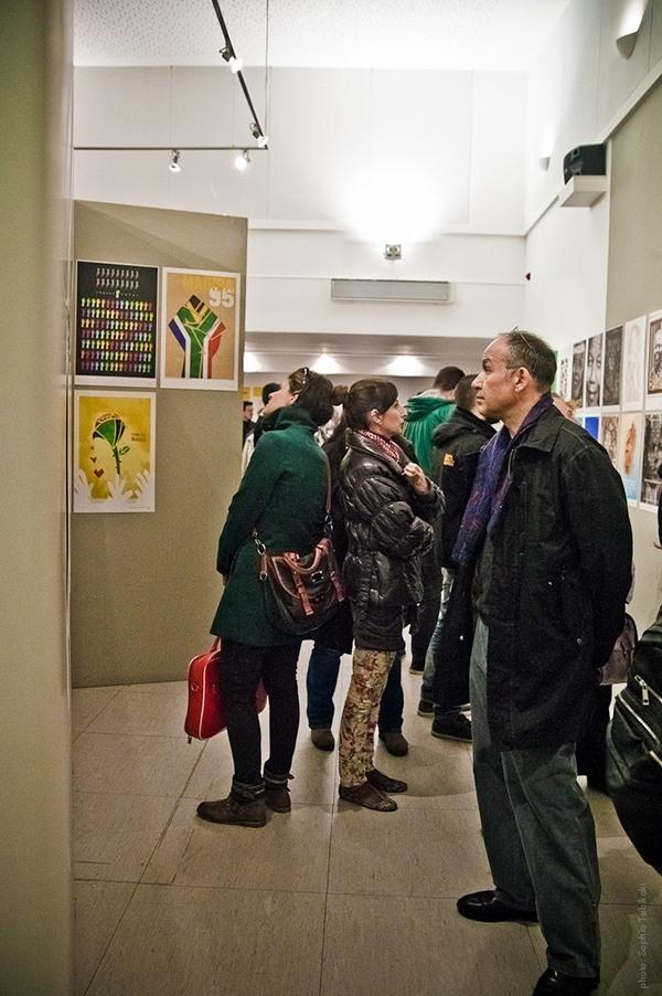 Mandela poster project esposizione grafica Poster Design social design Francesco Mazzenga