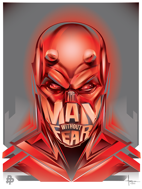 DARE DEVIL - Vector Tribute by Orlando Arocena