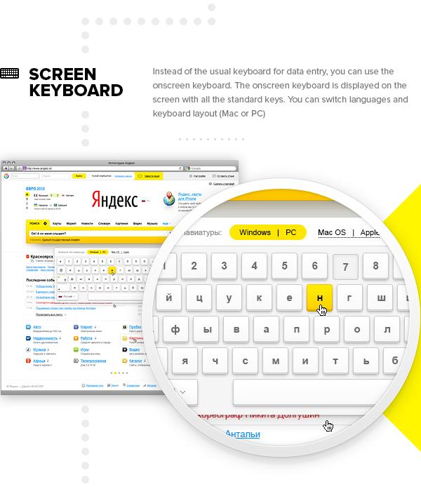 design Web yandex Russia icons Interface UI