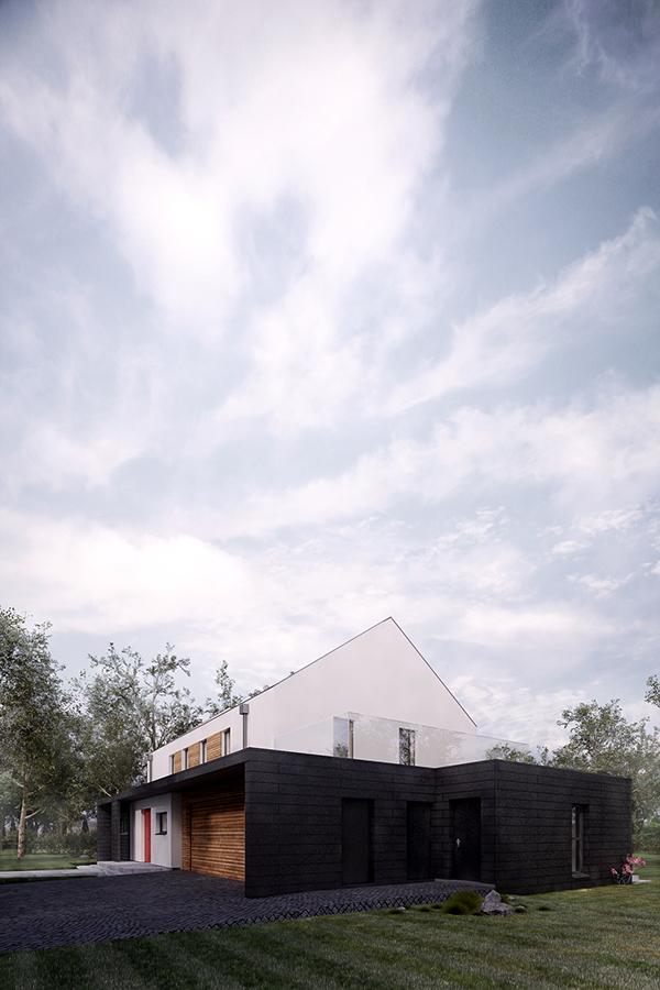 house Render 3D