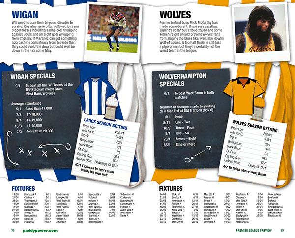 Paddy Power Premier League Booklet on Behance