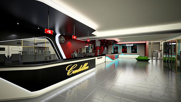 Car Shop In Qatar On Behance