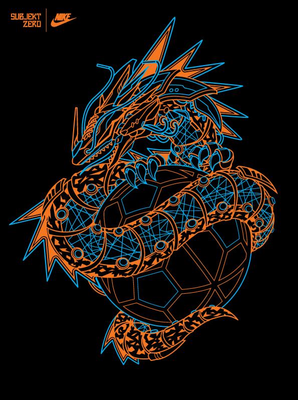 vector mecha robot Nike nike usa tshirt tees Sportswear subjektzero mechanical glow machine football airmax