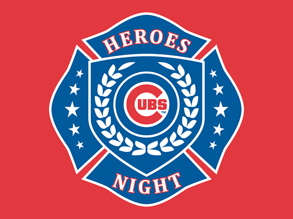 Chicago Cubs Heroes Night Logo And T Shirt Design On Behance