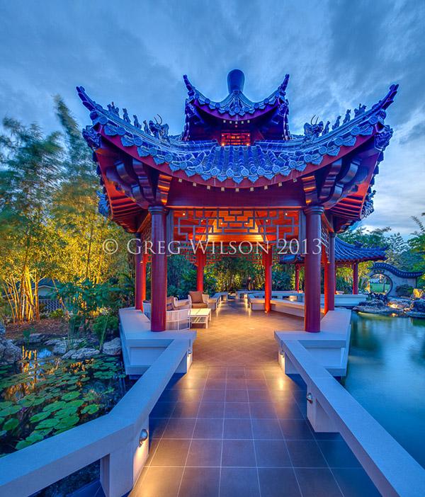 Casey Key Pagoda Garden On Behance