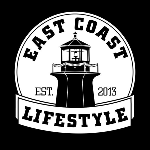 east coast lifestyle t shirt design on behance