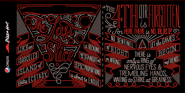hand-lettering type