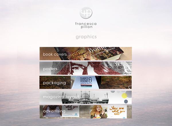portfolio logo web pages screenshot mock up website layout