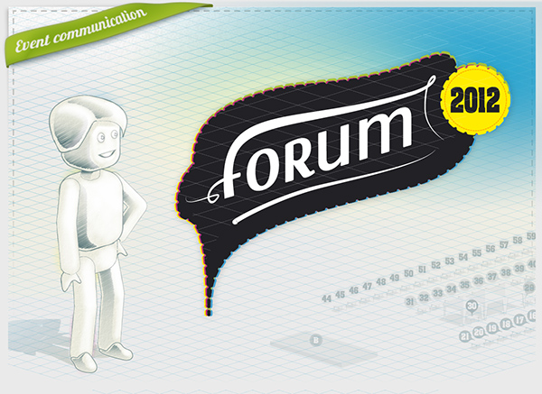 Event 3D forum exchange sharing Hall associations demonstration Board table structure