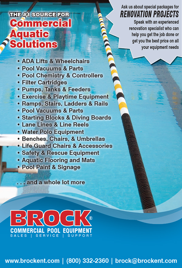 1 3 Page Ad For A Swimming Pool Supply Company On Behance