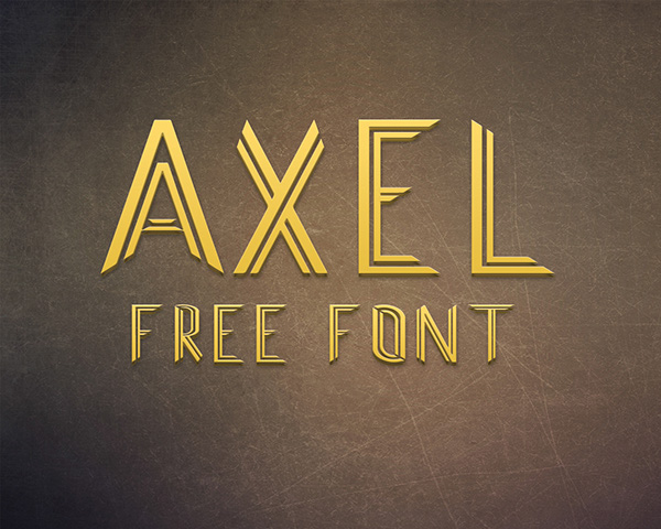 Axel Font Download
