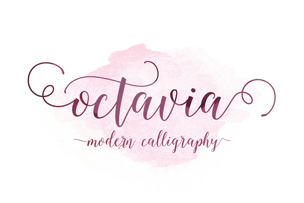 Octavia Script Another Lovely Modern Calligraphy Typefaces