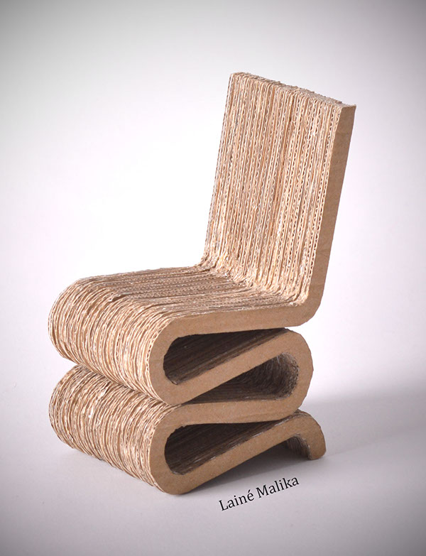 maquette wiggle side chair chelle 1 6 on behance. Black Bedroom Furniture Sets. Home Design Ideas