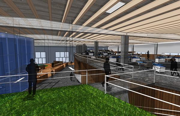 Copenhagen CPH Startup Center, Interior Design Abroad