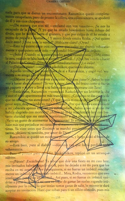 stars books paper connections lines