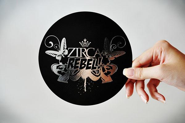 Zirca rebel 1st anniversary flyer on behance