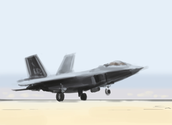Military conceptart digital painting speed painting