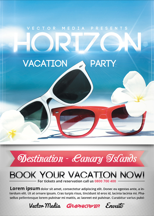 Vacation - Flyer on Behance
