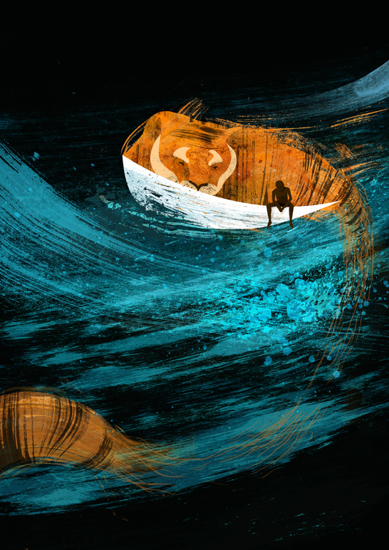 life of pi write up Having just experienced the sinking of his family's ship, and being put onto a life boat with only a hyena, pi felt completely lost and alone.