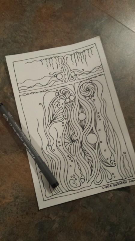 ink Drawing  #inktober2016