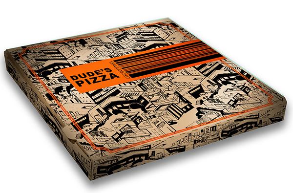 PIZZA BOX DESIGN on Behance
