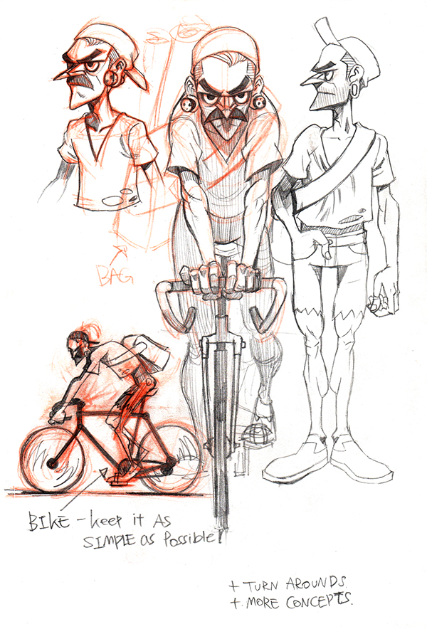 Character Design Profile : Vicious circle character design on behance