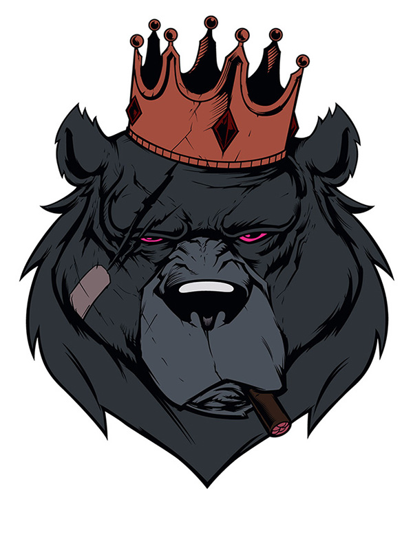 Bear King Colors on Wacom Gallery