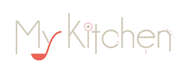 Logo design my kitchen on behance for Kitchen design logo