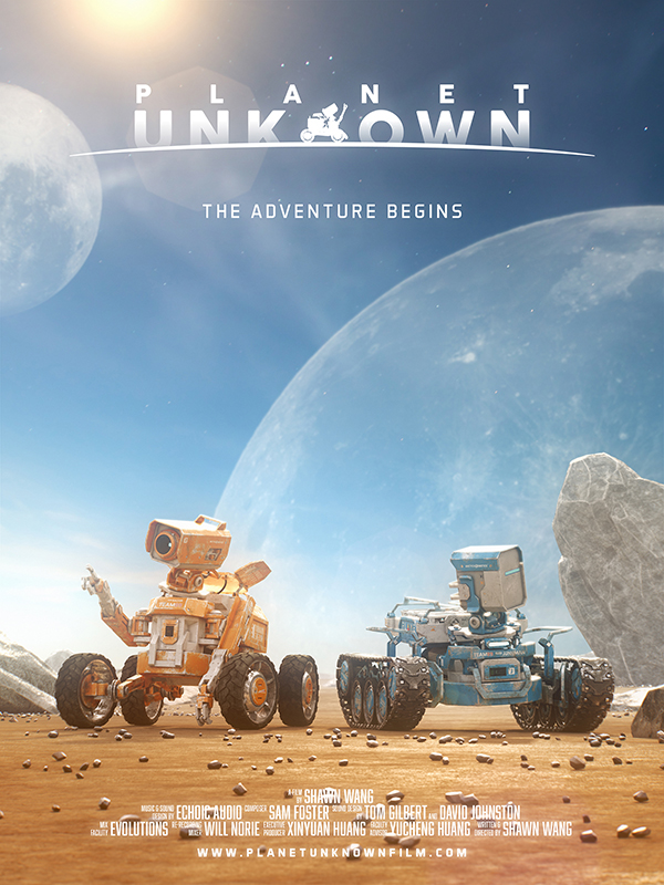 planet unknown short Film   3D CG animation  Space  rovers