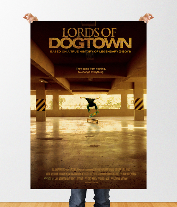 poster lords of dogtown on behance